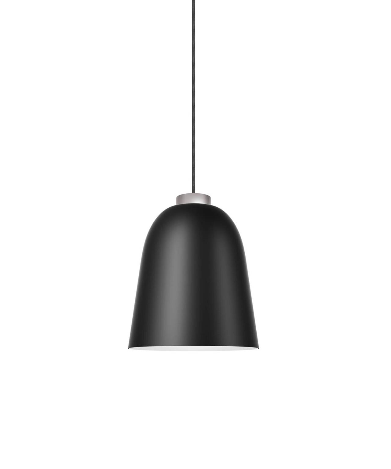 summera pendelleuchte medium matt schwarz silber shapes. Black Bedroom Furniture Sets. Home Design Ideas