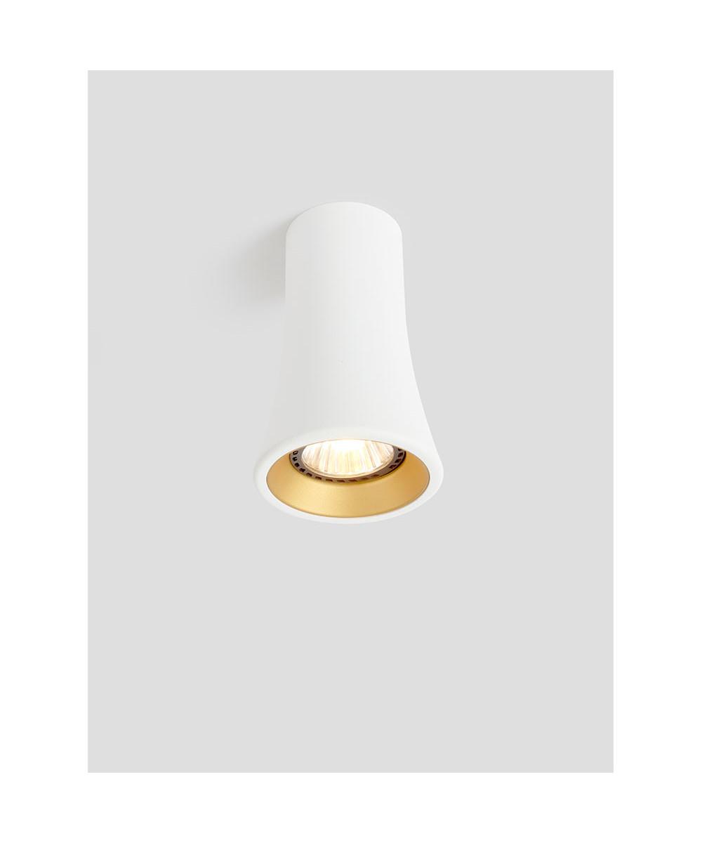 Naga Loftlampe Hvid/Guld - Trizo21
