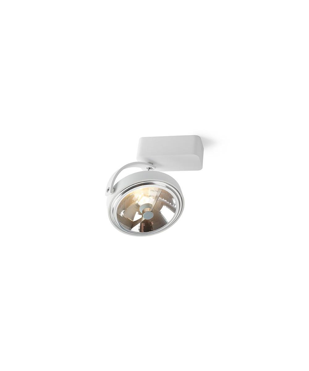 Pin-Up 1 Square Loftlampe Hvid - Trizo21
