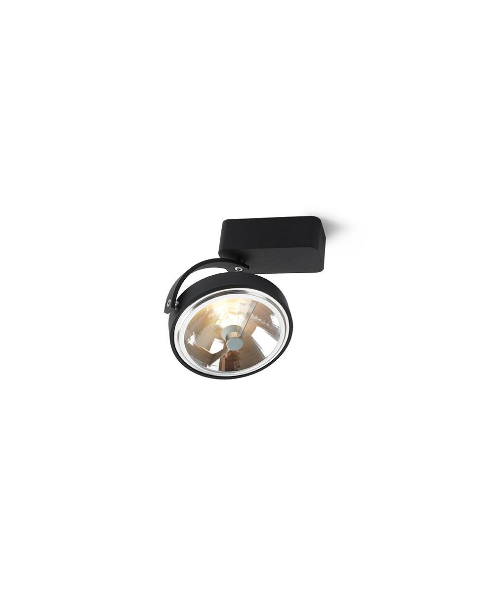 Pin-Up 1 Square Loftlampe Sort - Trizo21
