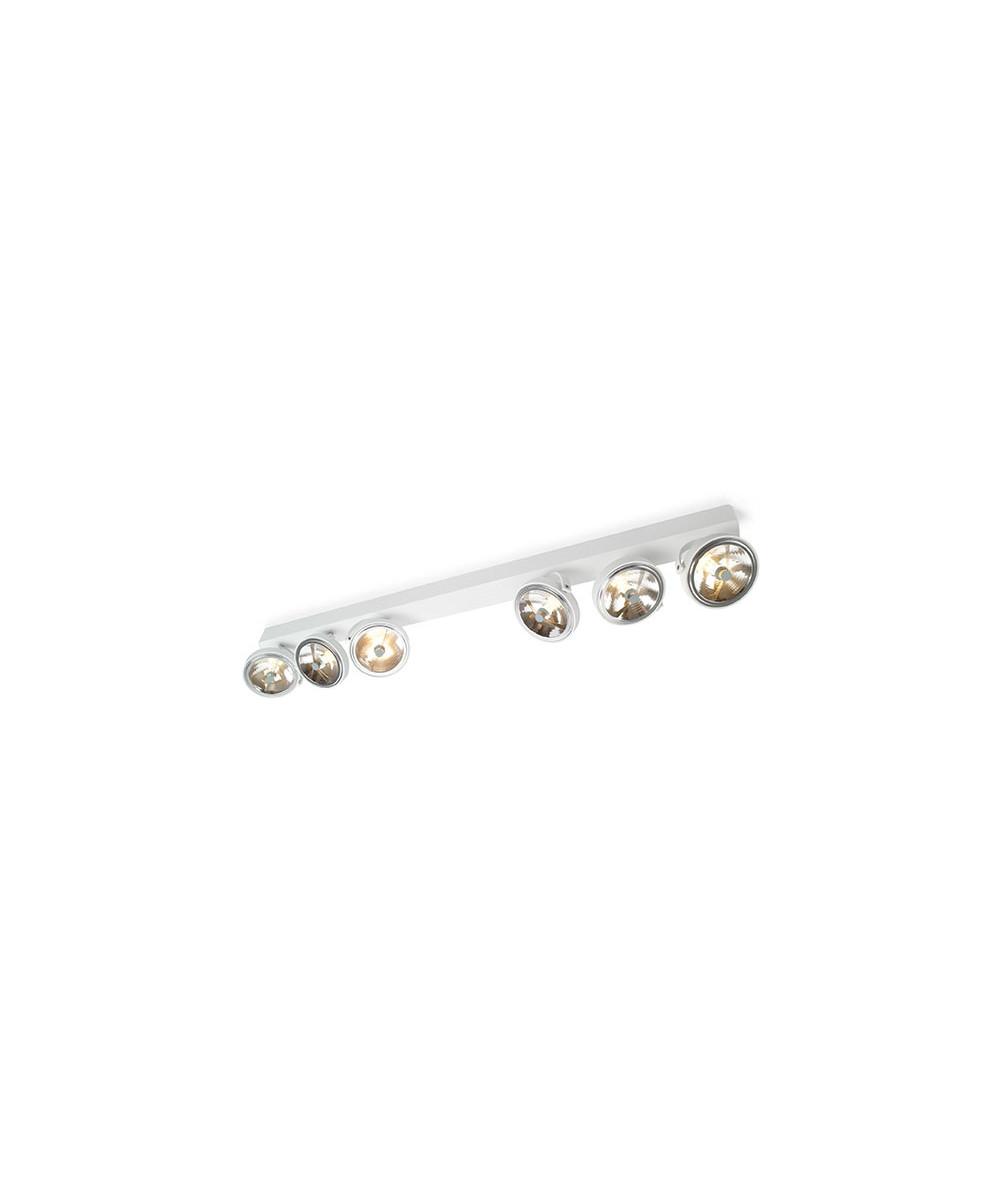 Pin-Up 6 Loftlampe Hvid - Trizo21