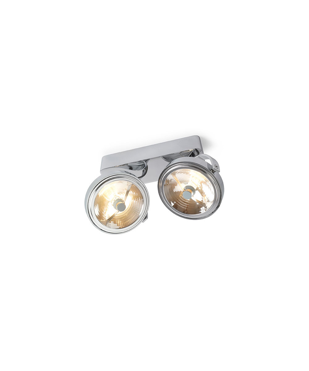 Pin-Up 2 Loftlampe Krom - Trizo21