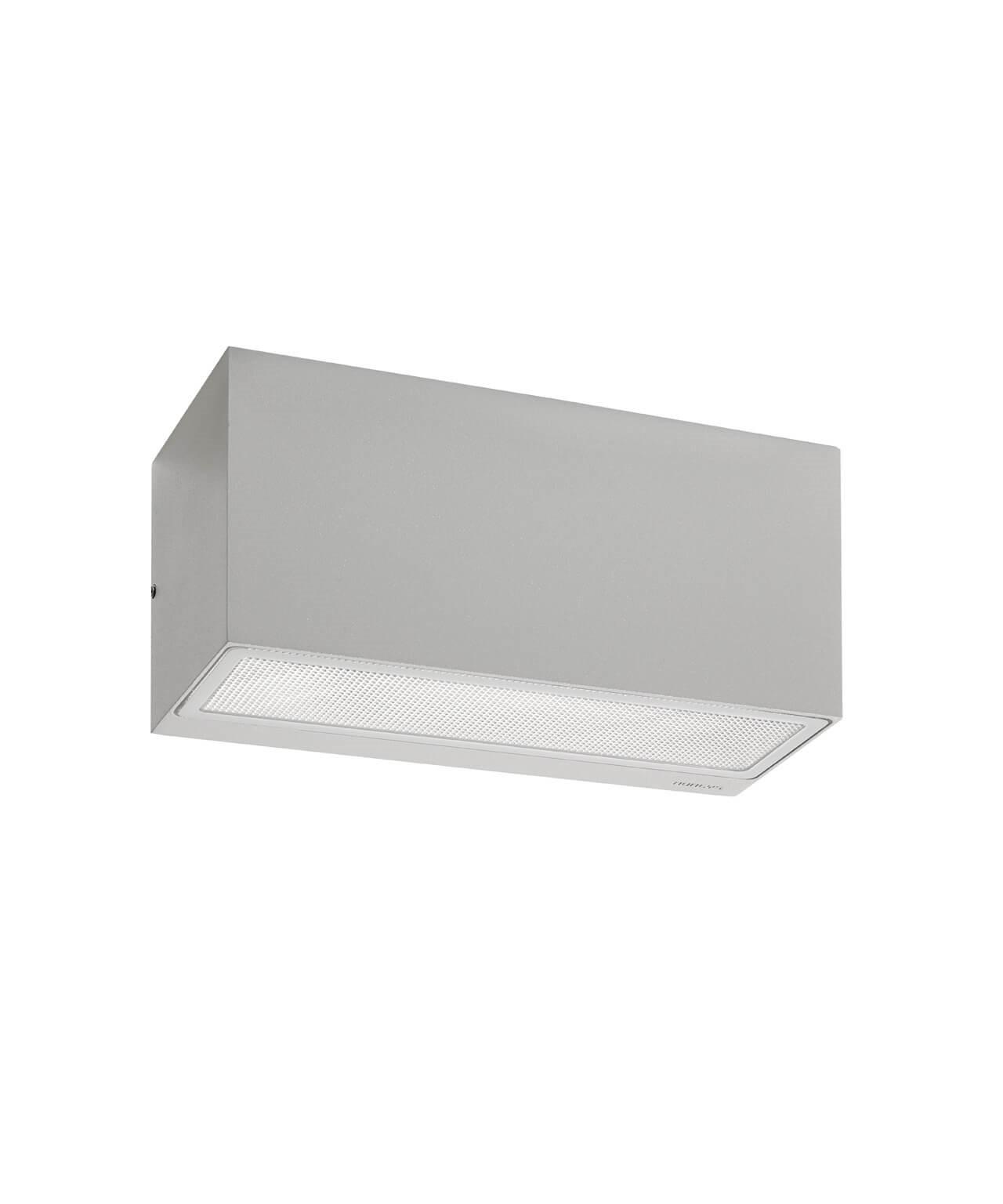 Asker LED Down Utendørs Vegglampe 22,5 cm Alu - Norlys