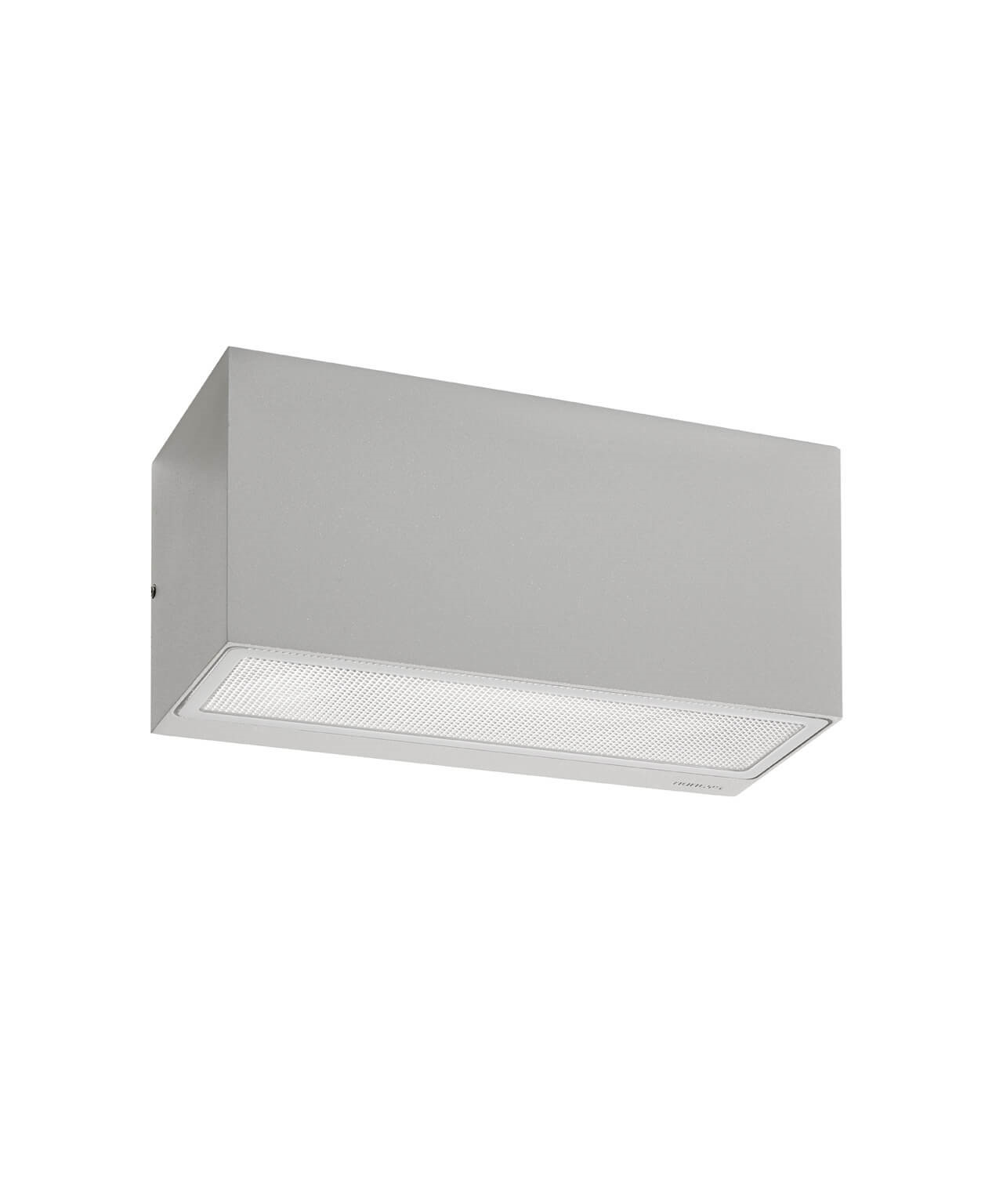 Asker Down Utendørs Vegglampe 22,5 cm Alu - Norlys