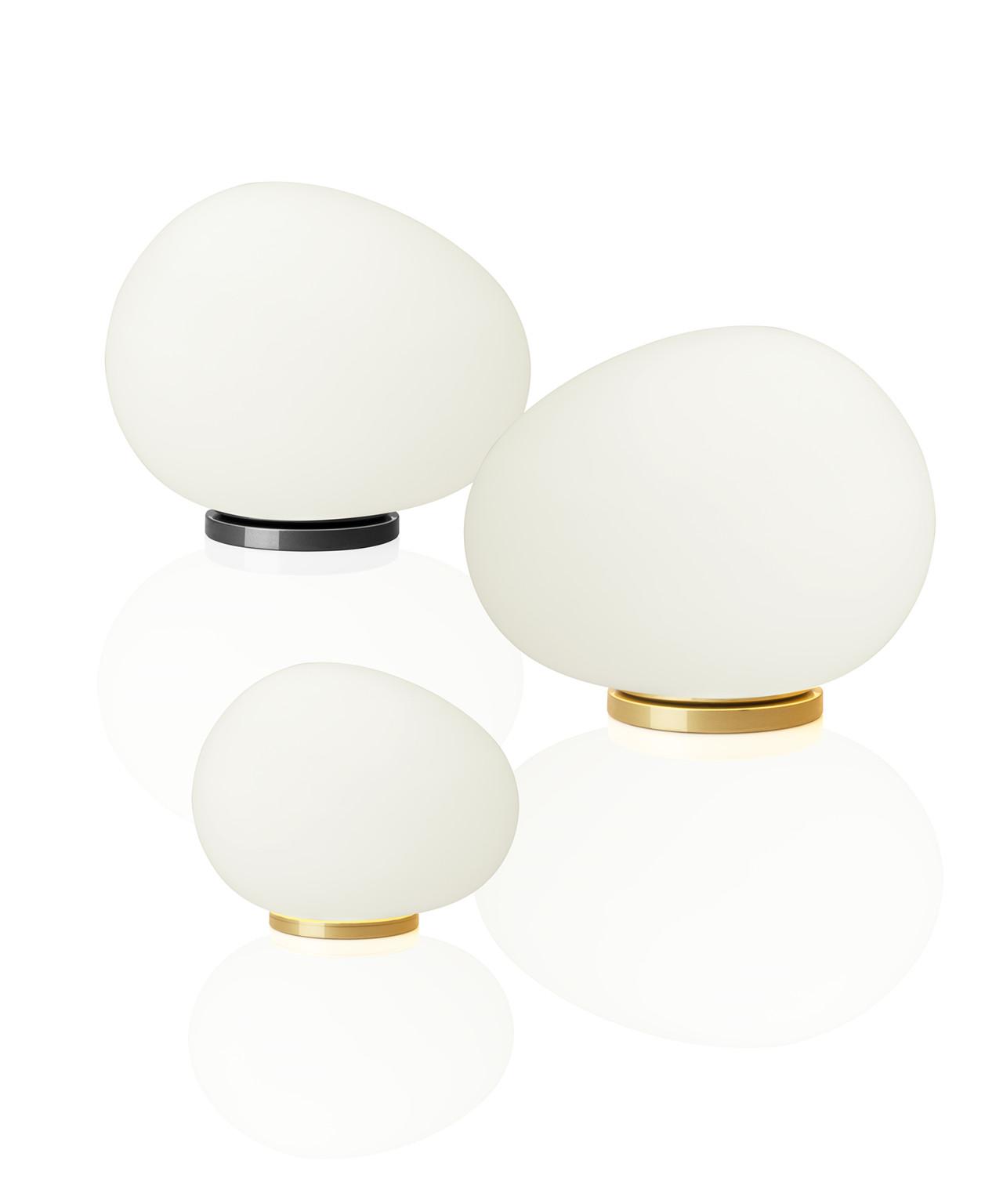 Gregg Be Colour Midi Bordlampe Graphite/White Foscarini