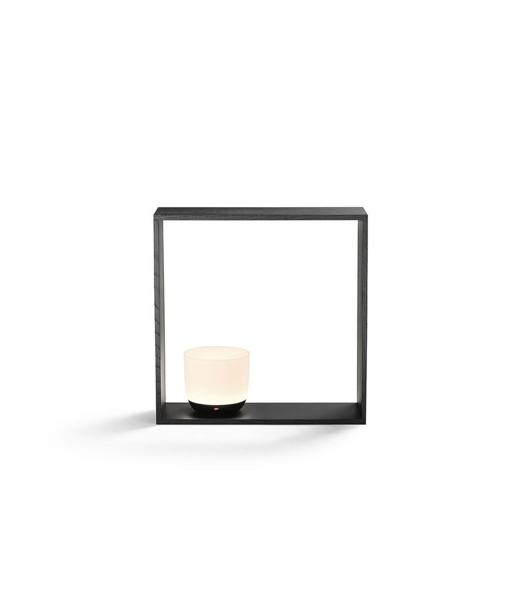 Gaku Wireless Bordlampe/Væglampe Sort - Flos