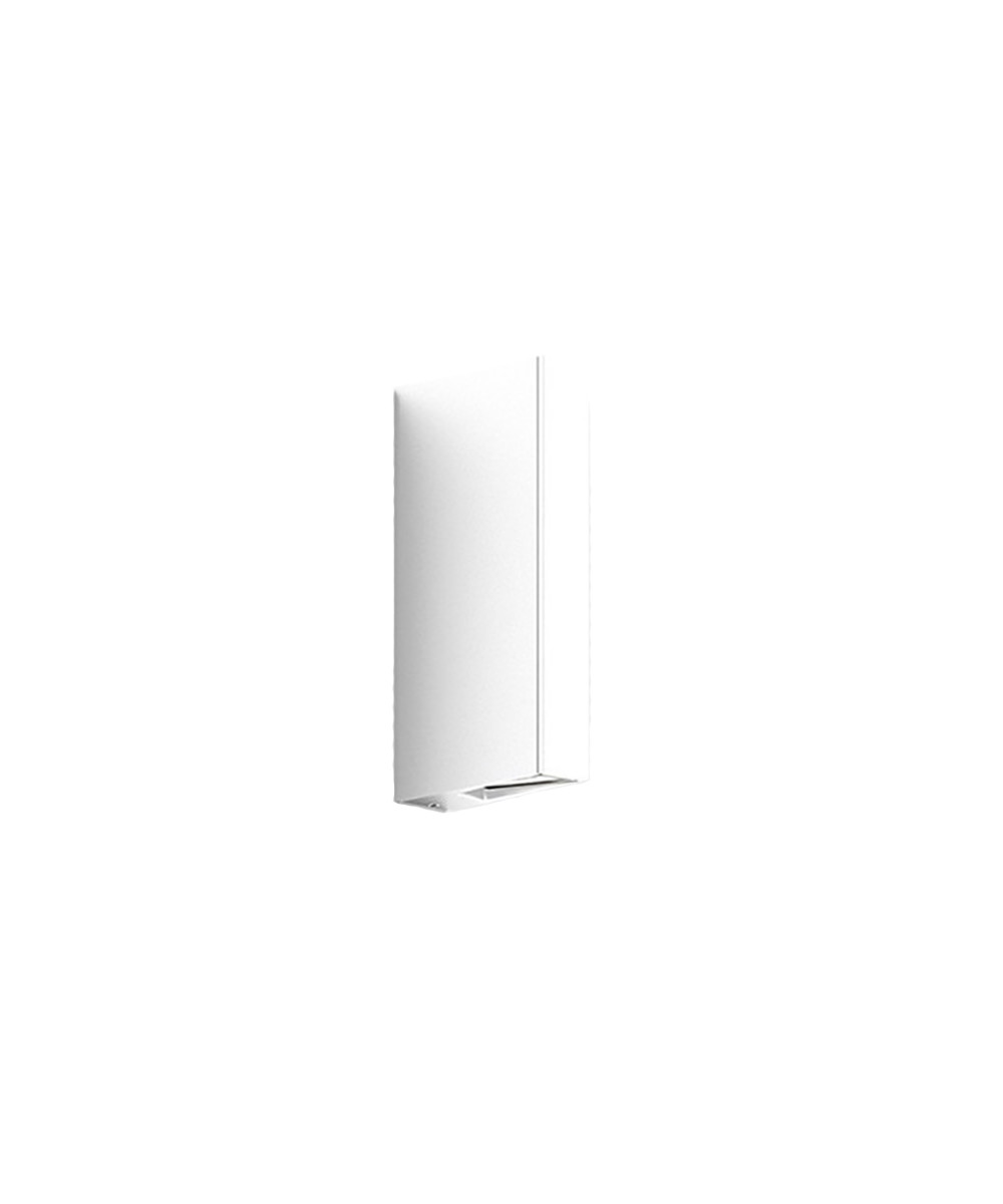 Gap Y Udendørs Væglampe Pure White - IP44.de thumbnail
