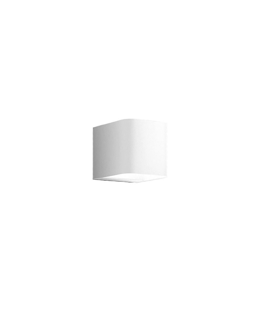 Image of   Intro Udendørs Væglampe Pure White - IP44.de