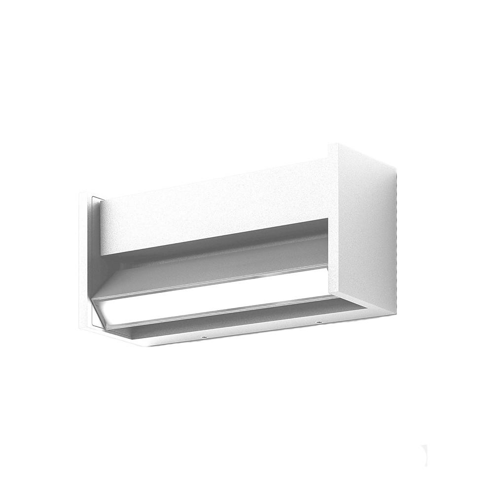 Slat Udendørs Væglampe Pure White - IP44.de