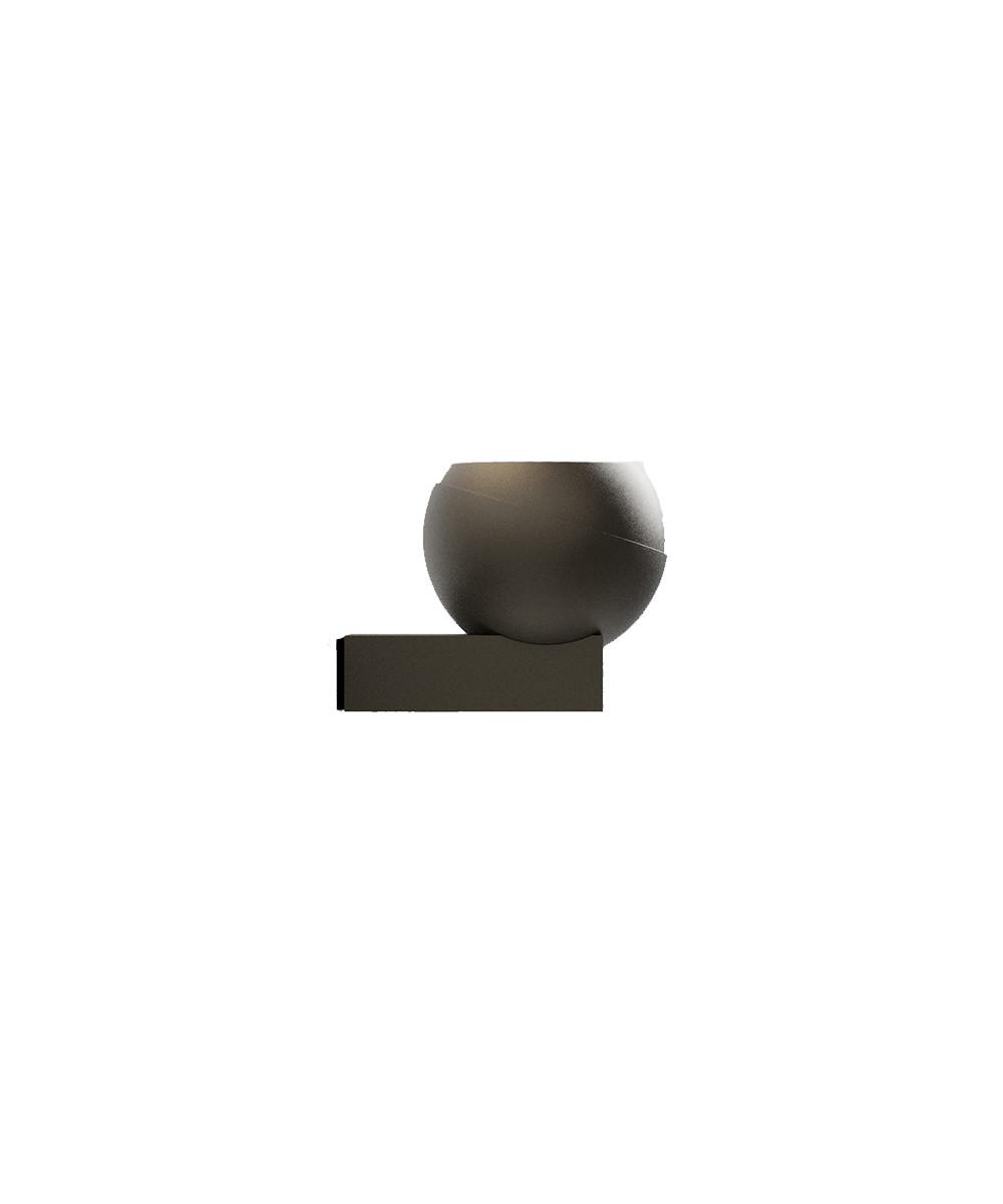 Image of   Vægbeslag til Shot Udendørslampe Cool Brun - IP44.de