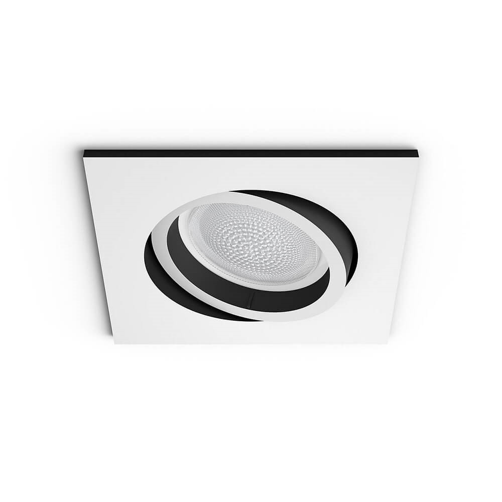 Image of   Centura Recessed White Squared Bluetooth - Philips Hue