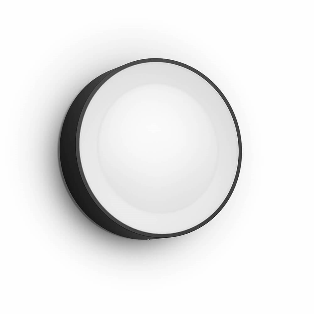 Daylo Hue White & Color Ambiance Udendørs Væglampe Black - Philips Hue