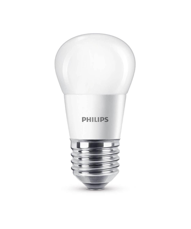 Pære LED 5,5W Plast Krone (470lm) E27 - Philips