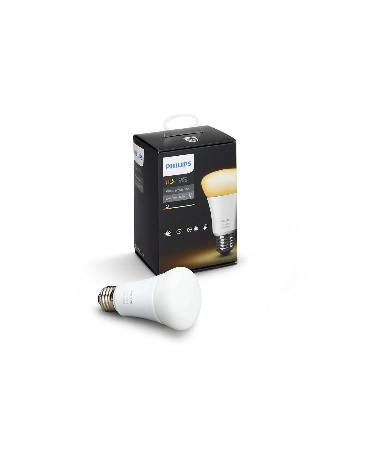 philips hue ambiance 9 5w e27 leuchtmittel. Black Bedroom Furniture Sets. Home Design Ideas