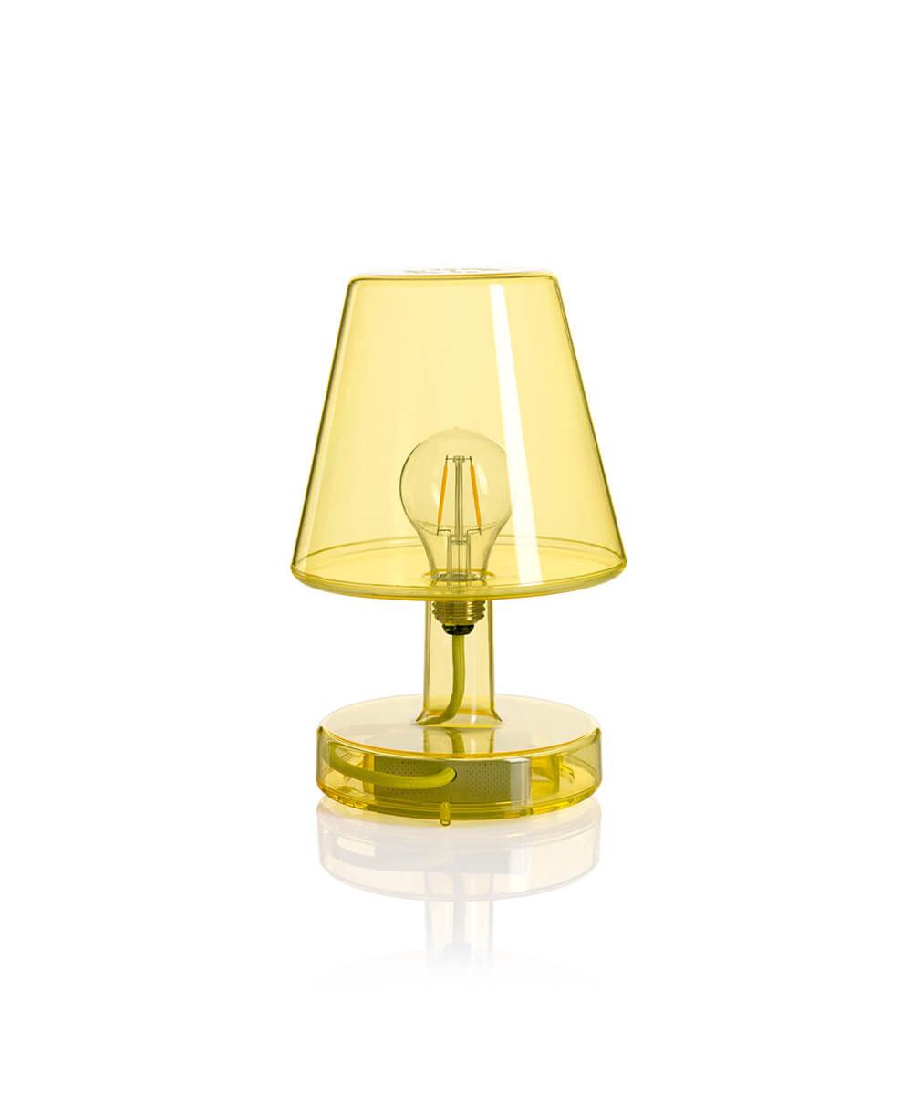 Transloetje bordlampe gul