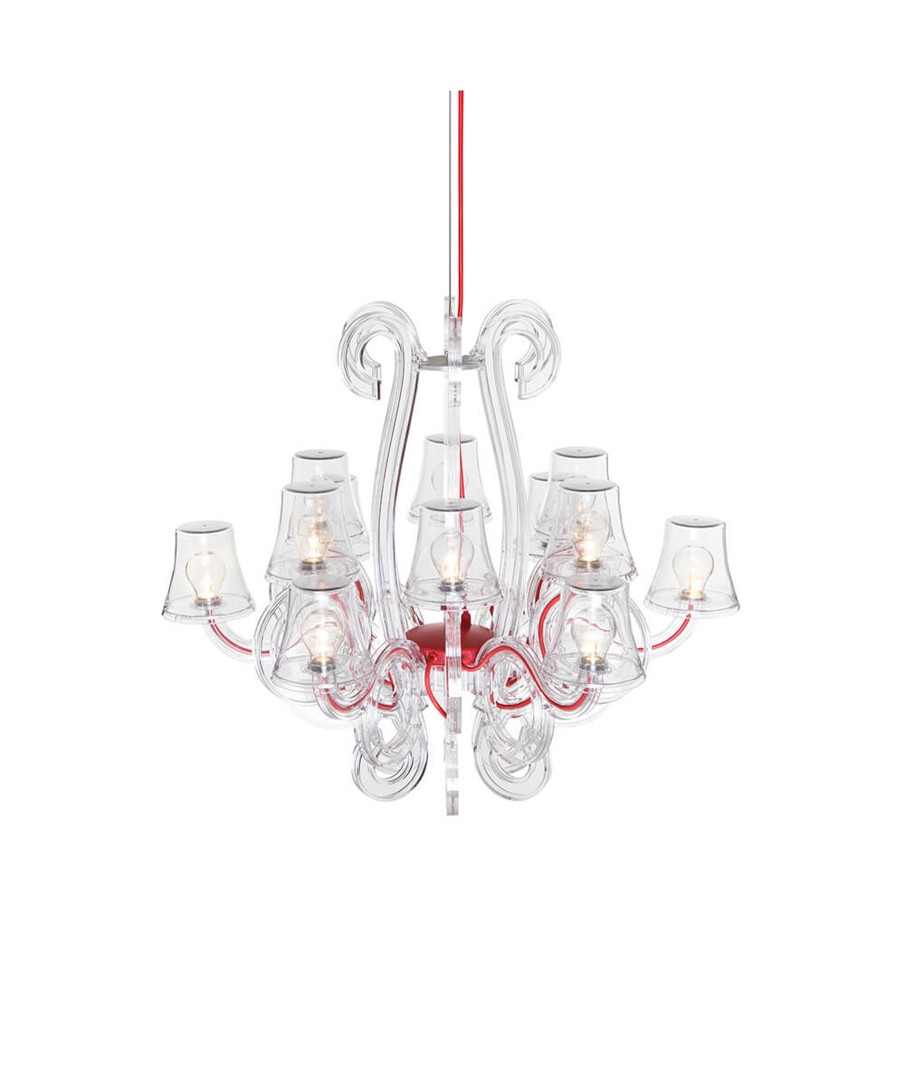 Image of   Rockcoco 12.0 Chandelier Transparent - Fatboy®
