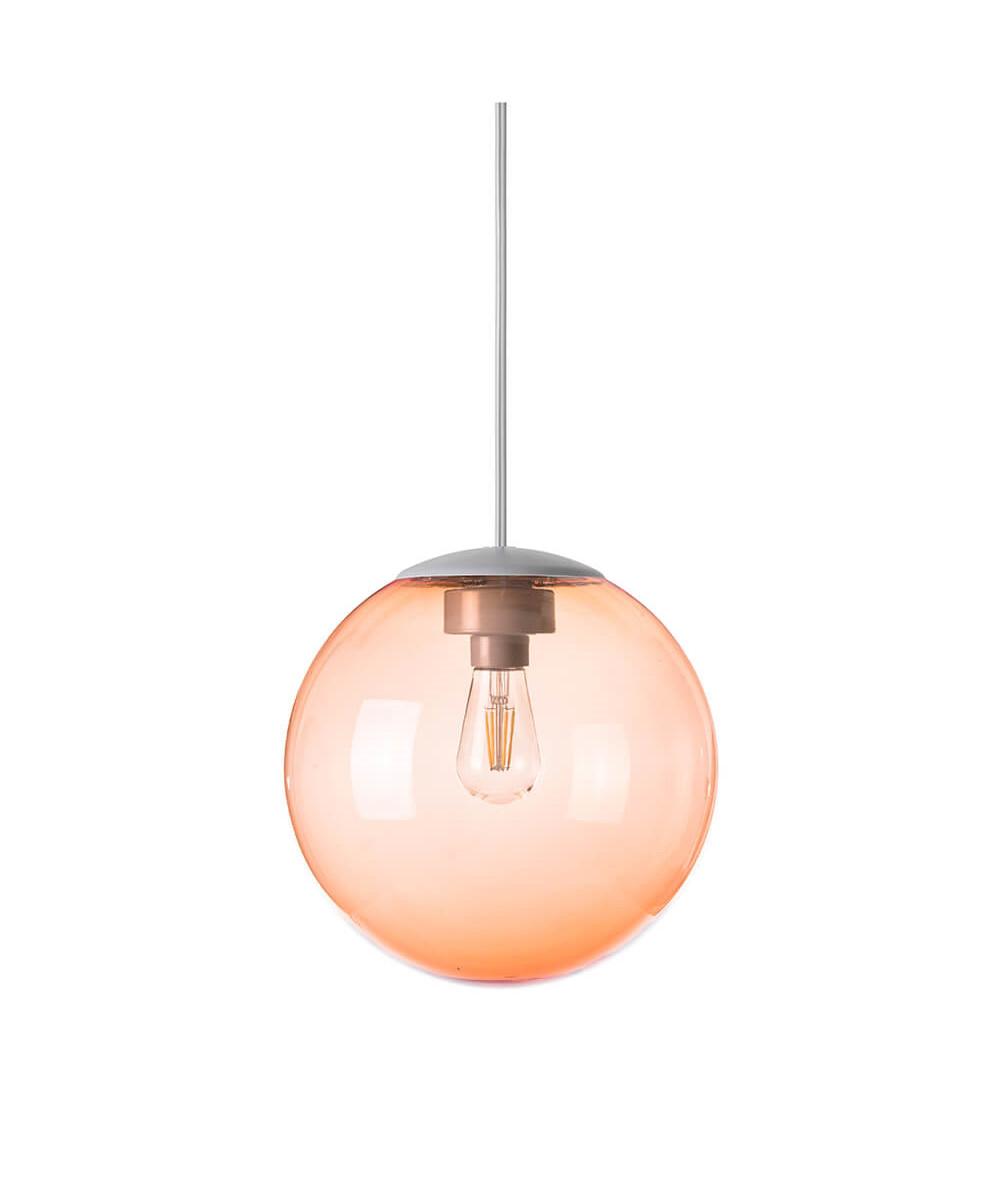 Spheremaker 1 pendel mørk orange
