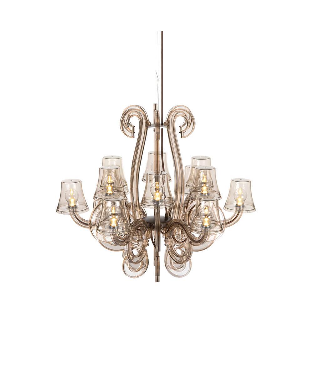 Rockcoco 12.0 chandelier bronze