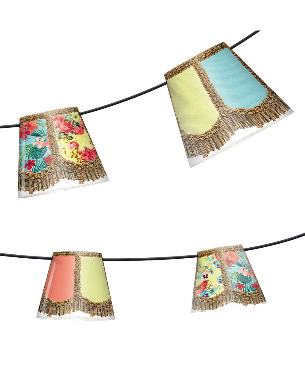 Image of   Party Polonaise String Light Good Old Days - Fatboy®