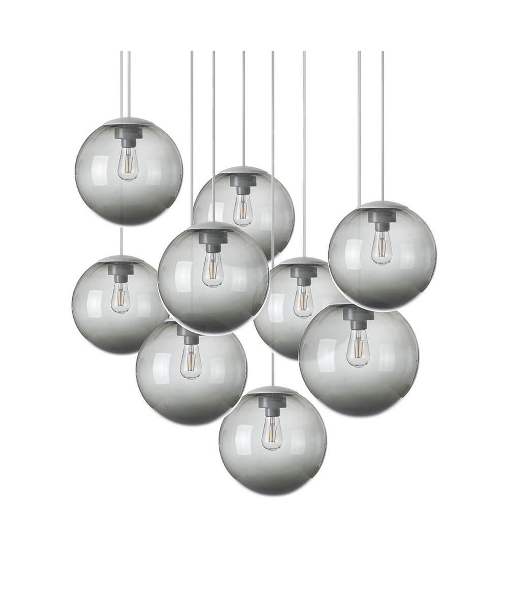Spheremaker 9 pendel mørk grå