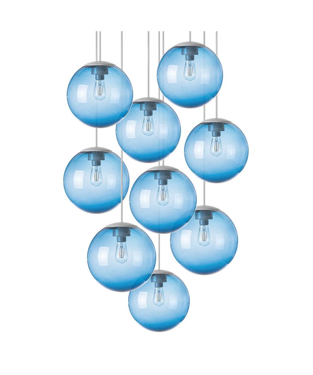 Spheremaker 9 pendel blå