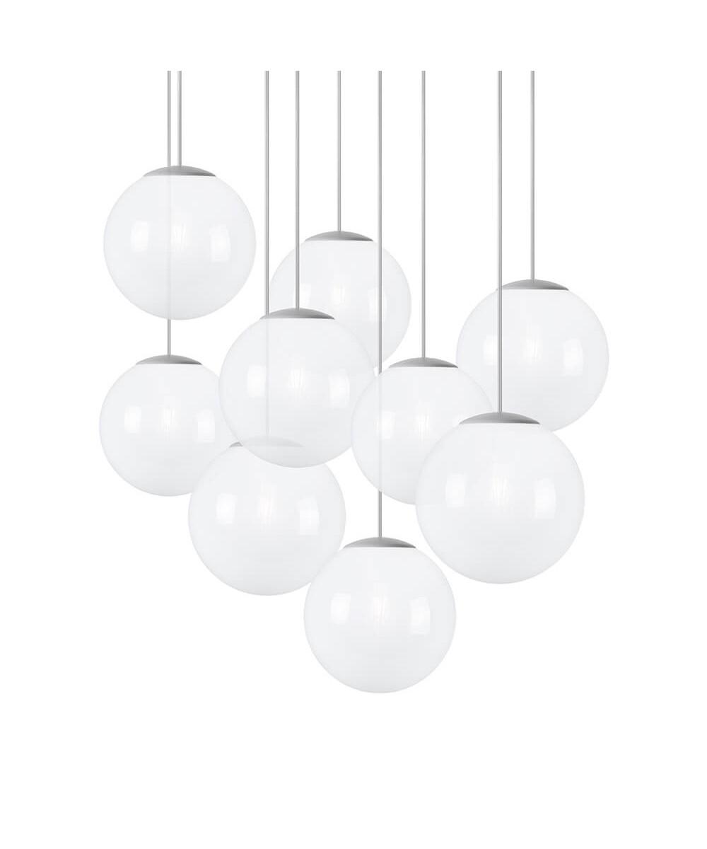 Spheremaker 9 pendel hvid