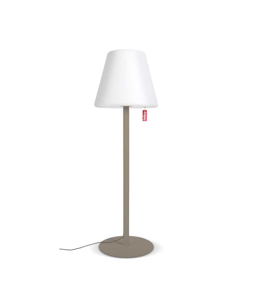 Image of   Edison The Giant Gulvlampe Taupe - Fatboy®