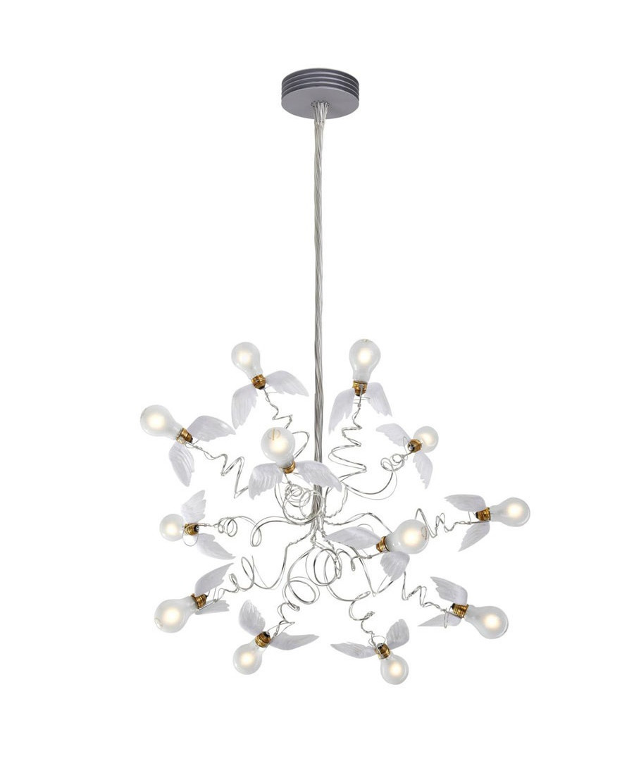 birdie pendel transparent ingo maurer. Black Bedroom Furniture Sets. Home Design Ideas
