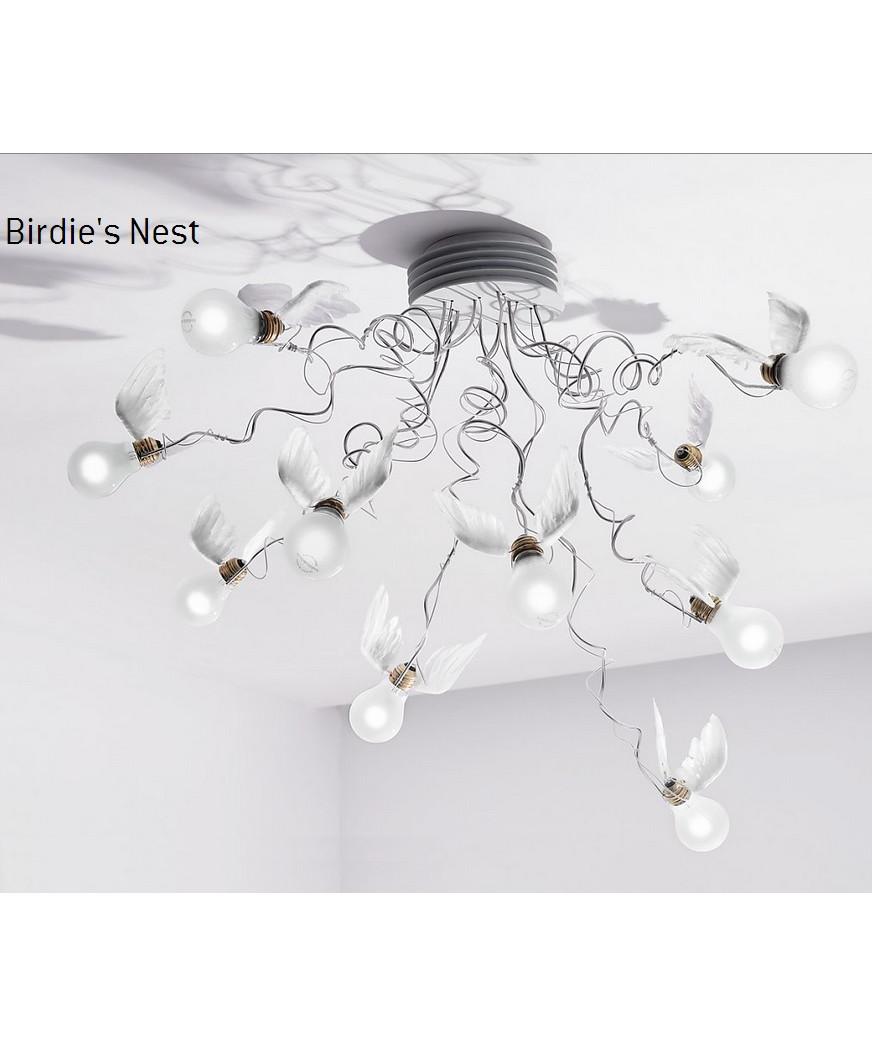 Birdie Nest Loftlampe - Ingo Maurer