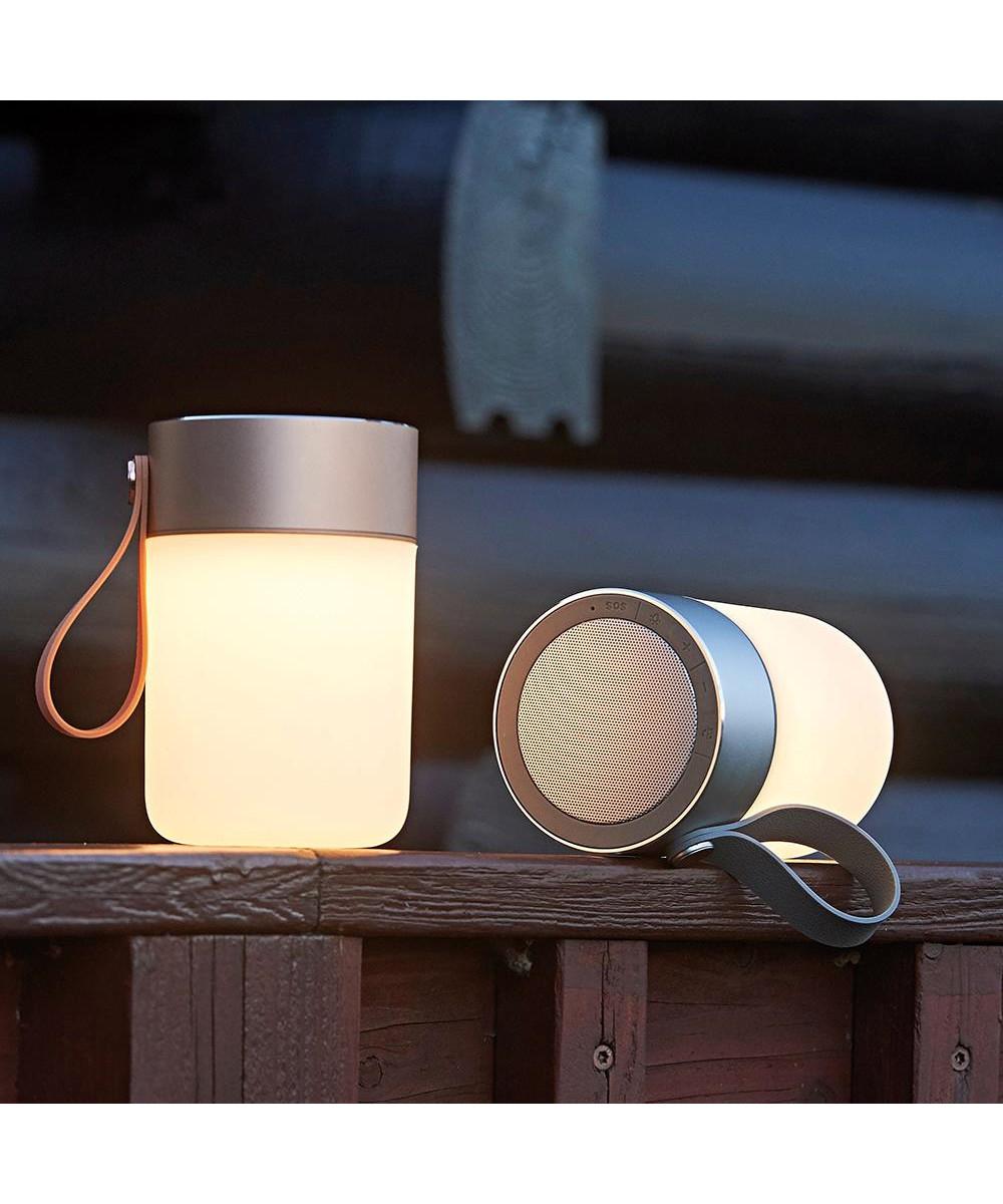 Flot LED Sound Jar Gold - Halo Design RU-93