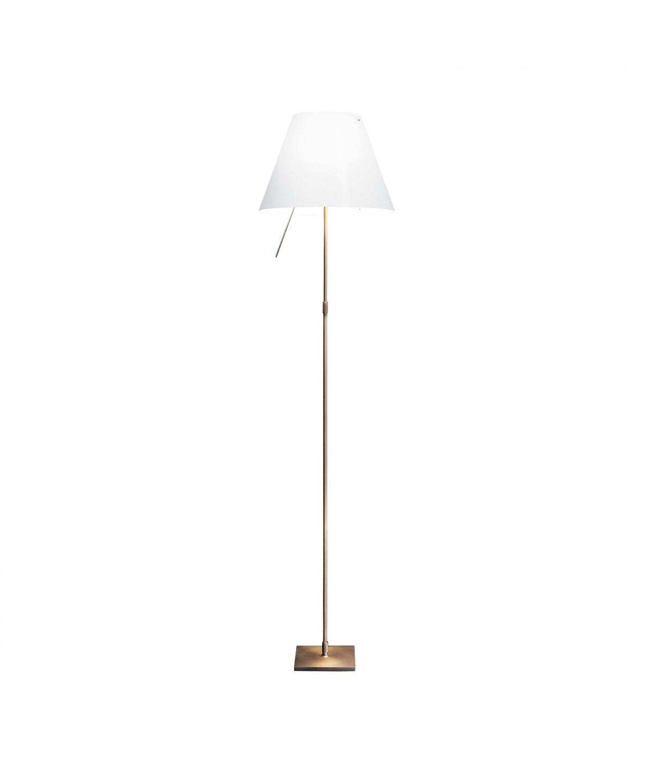 Costanza Gulvlampe Bronze/Hvid Limited Edition - Luceplan