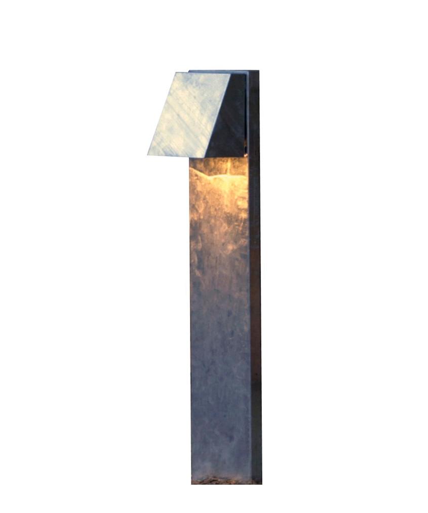 Image of   Felix Udendørs Bedlampe Galvaniseret - David Superlight