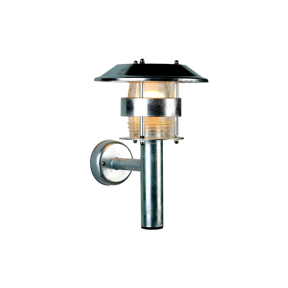 Image of   Thomas Udendørs Væglampe Galvaniseret/Klar Polycarbonat - David Superlight