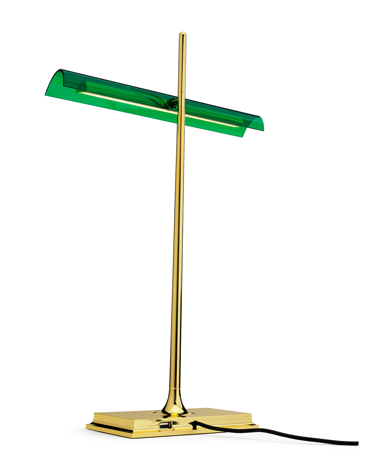 goldman bordlampe messing flos. Black Bedroom Furniture Sets. Home Design Ideas