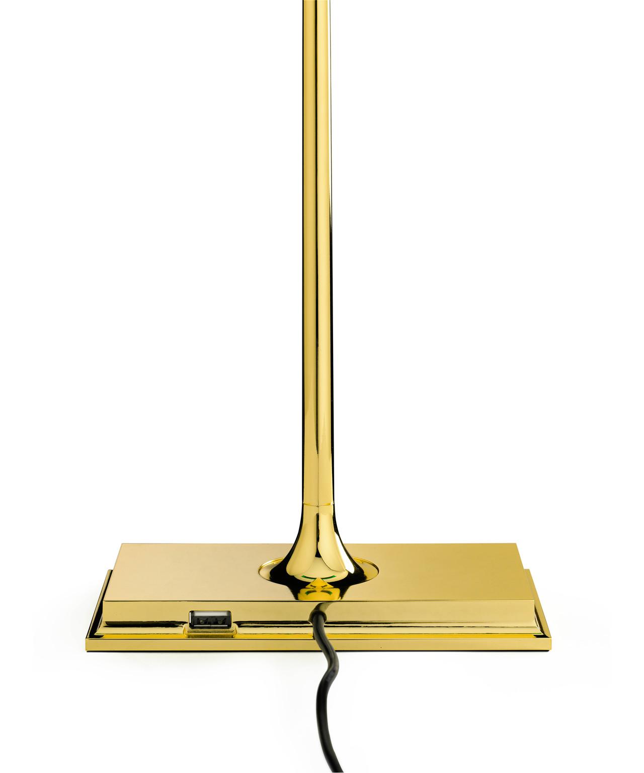 goldman bordlampe sortforkromet flos. Black Bedroom Furniture Sets. Home Design Ideas