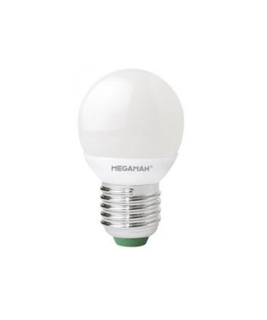 Producent MegamanKoncept krone pære. Den har 250lm, hvilket svarer til ca. 25W. Den har et varmt lys med 2800 kelvin. Hvis du har det lidt svært med det, med pærer, kommer der her en lille kort forklaring om de vigtigste ting, du skal være opmærksom på. I dag bliver lysstyrken målt på lumen i stedet for watt. Du kan nogenlunde gå ud fra nedenstående. 15W = 140 lumen 25W = 250 lumen 40W = 470 lumen 60W = 800 lumen 75W = 1050 lumen 100W = 1520 lumen Derudover kan man også se på en pære, at der er oplyst en RA eller CRI værdi. Det er lysets evne til at gengive farver og det vurderes på en skala fra 0-100 RA. 100 RA giver den bedste farvegengivelse og det er det, man får fra dagslys. Til et almindeligt hjem, skal man vælge pærer med en RA værdi på mere end 80. Der vil også være oplyst en kelvingrad. Dette er lysets farve. En pære med en kelvingrad på 2.700 - 3.000 har et varmt lys. 4.000-4.5000 giver et neutral til køligt lys og er den mest optimale lysfarve at arbejde i. Hvis man har brug