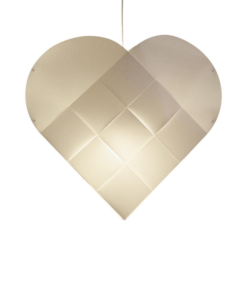Le Klint Hjerte X-Large m/Hvid Ledning - Le Klint