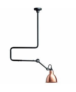 312 deckenleuchte schwarz kupfer lampe gras. Black Bedroom Furniture Sets. Home Design Ideas