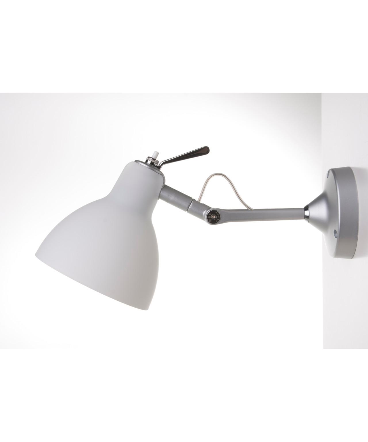 Luxy h0 væglampe/loftlampe alu/mat hvid