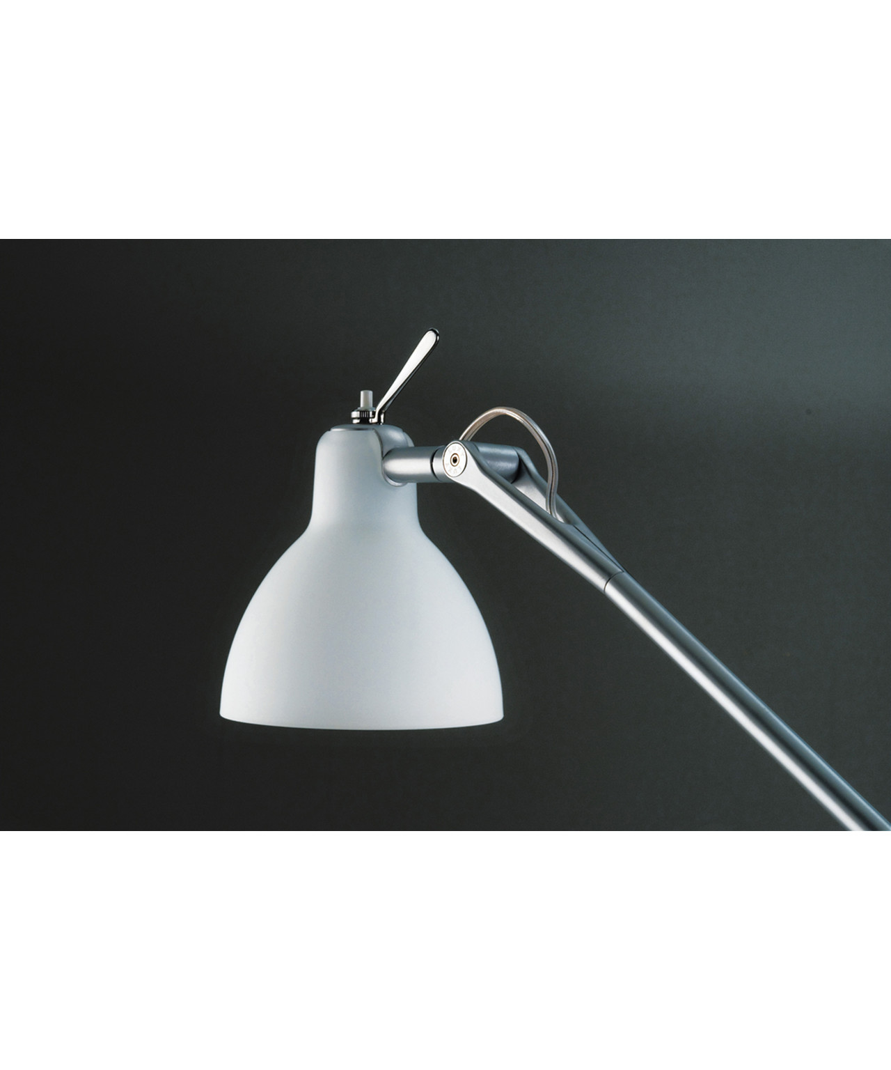 Luxy W0 Væglampe Alu/Blank Hvid - Rotaliana