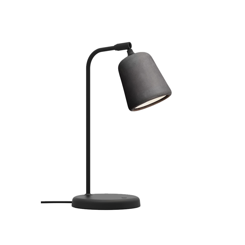 Image of   Material Bordlampe Dark Grey Concrete - New Works