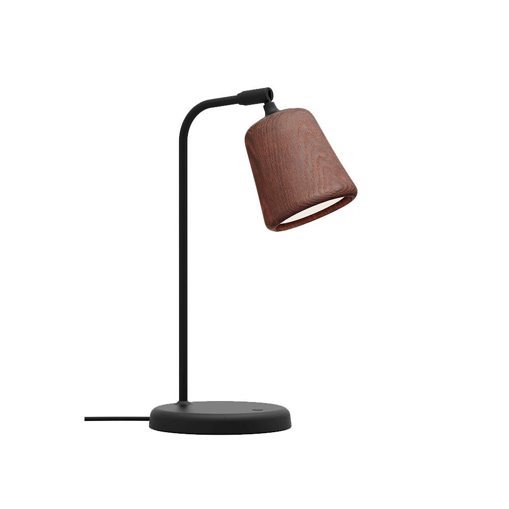 Image of   Material Bordlampe Smoked Oak - New Works