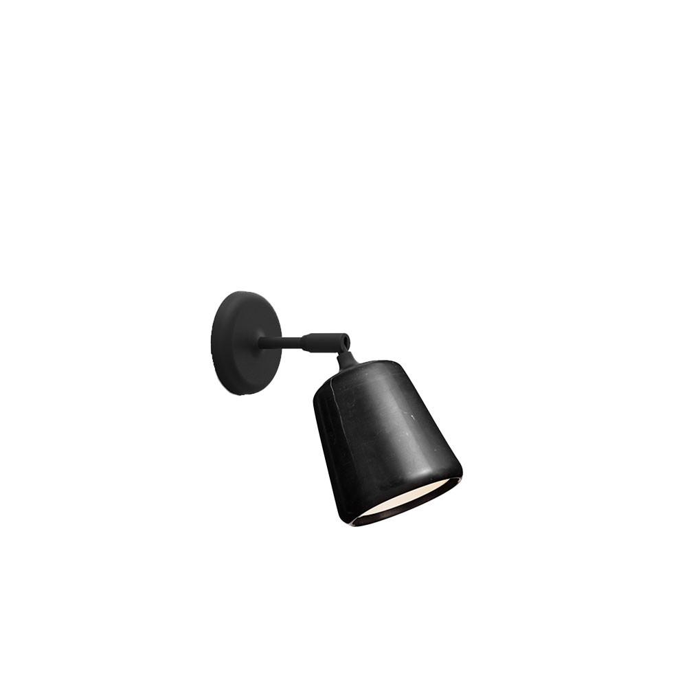Image of   Material Væglampe Black Marble - New Works