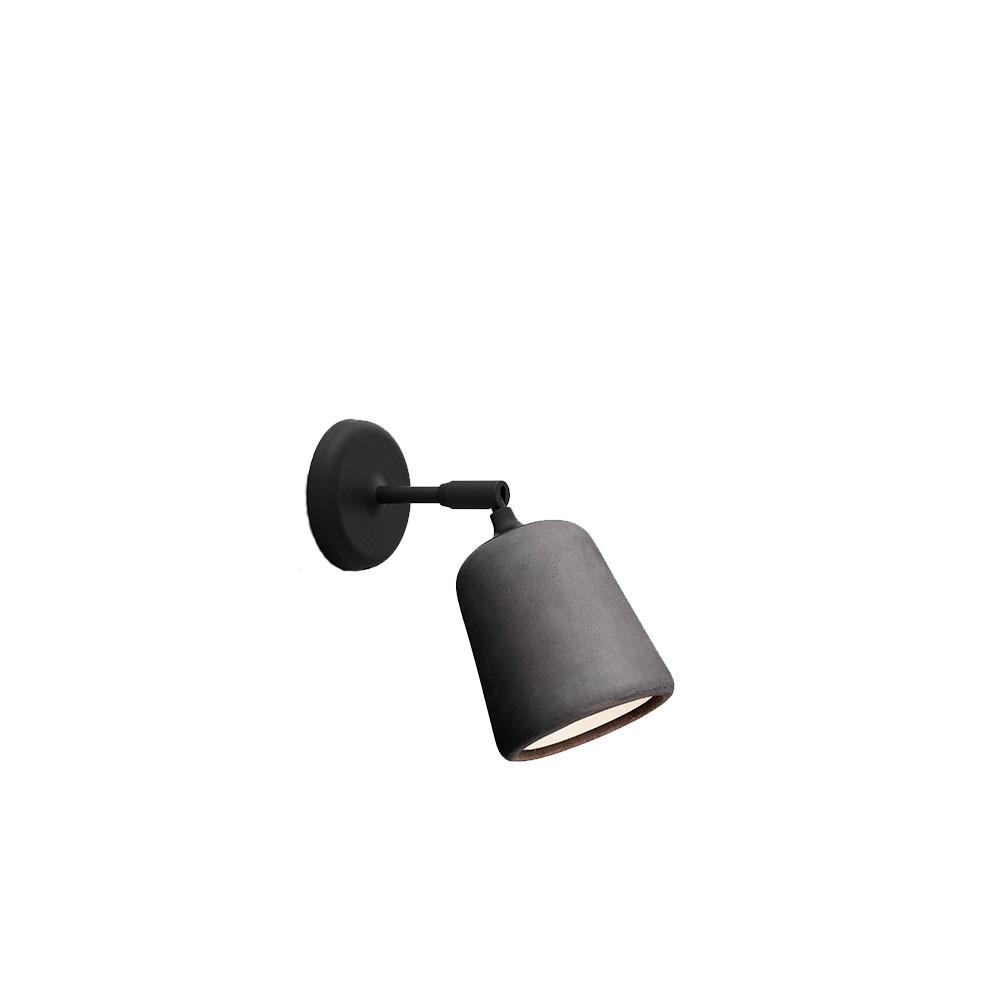 Image of   Material Væglampe Dark Grey Concrete - New Works