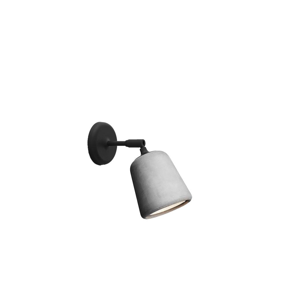 Image of   Material Væglampe Light Grey Concrete - New Works