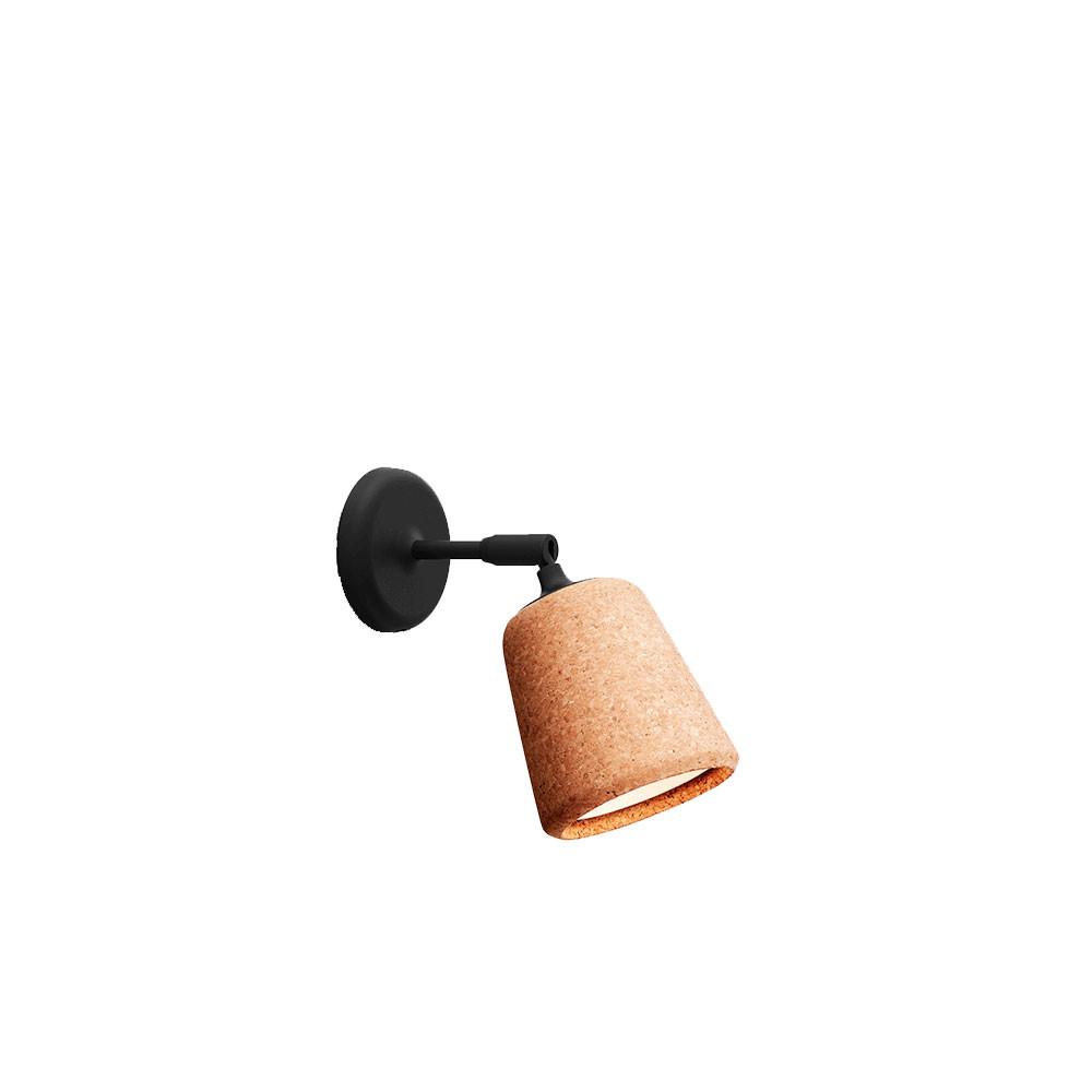 Image of   Material Væglampe Natural Cork - New Works