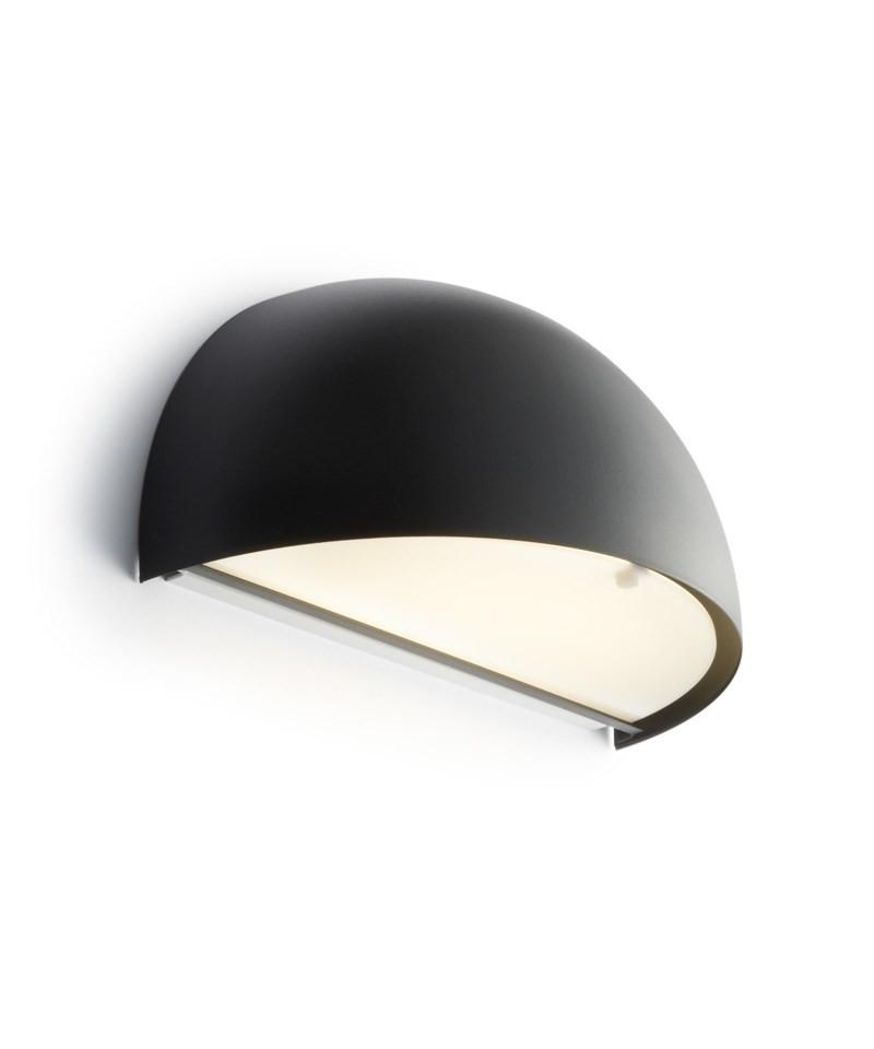 Billede af Rørhat Væglampe 40W E14 Sort - LIGHT-POINT