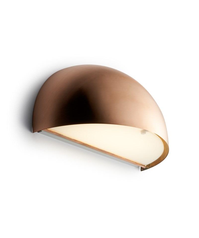 Nice Rørhat Væglampe 2x9W G23 Rå Kobber - LIGHT-POINT RO15