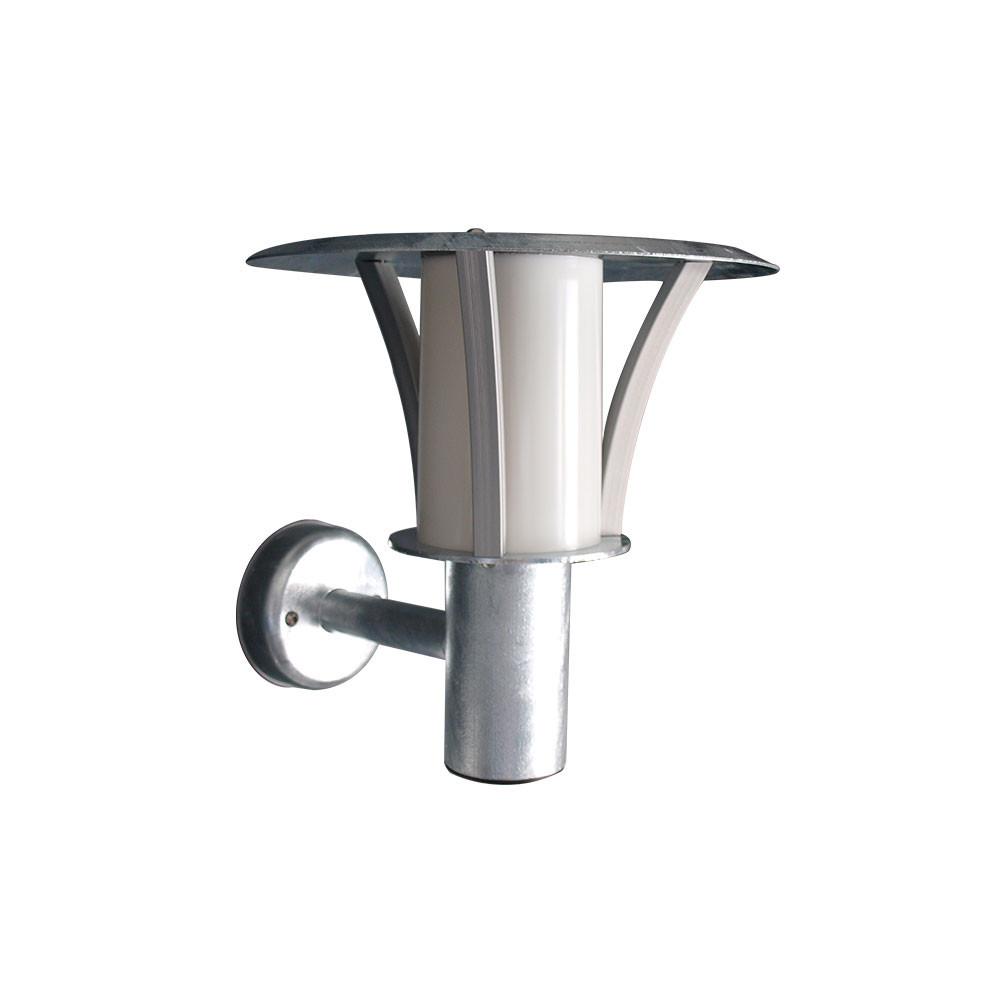 Image of   Samson Mini Udendørs Væglampe Galvaniseret - David Superlight