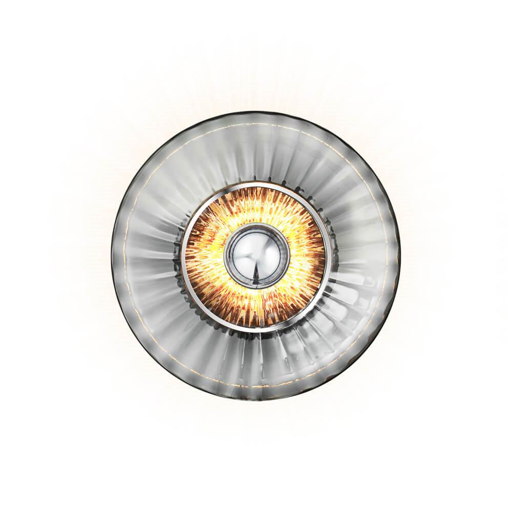 New Wave Optic Væglampe Smoke - Design By Us